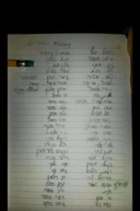 רשימה